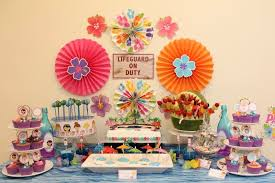 pool party ideas swimming pool party ideas with dessert table chic party ideas