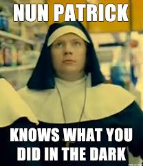 Boys Meme - nun patrick fall out boy meme on imgur