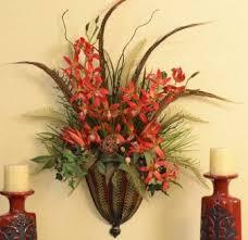 flower arrangements for home decor wall sconce floral arrangements contemporary sconces home decor silk