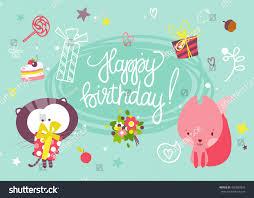 happy birthday card cartoon happy birthday to your