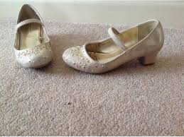 wedding shoes monsoon monsoon gold pretty party bridesmaid shoes size 10
