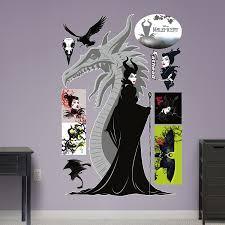 Wwe Wall Stickers Amazon Com Fathead Disney Maleficent Real Big Wall Decal Home