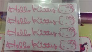 hello kitty writing paper hello kitty cute car sticker end 5 13 2016 9 15 pm