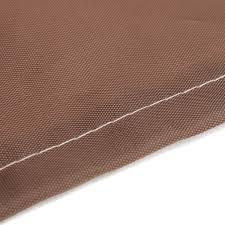 Waterproof Patio Chair Covers by Brown Polyester Waterproof Patio Chair Cover Single High Back