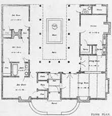 house plans courtyard house plans