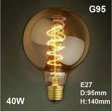 incandescent luminaire outdoor lighting led antique retro vintage edison light bulb e27 40w 220v
