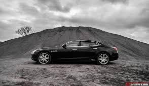 maserati sedan black 2014 maserati quattroporte gts review gtspirit