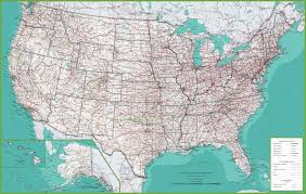 detailed map of usa and canada us detailed map maryland map detailed 55 free for