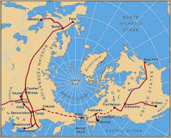 Map Of Russia And China by Interbering International Bering Strait Tunnel And Railroad