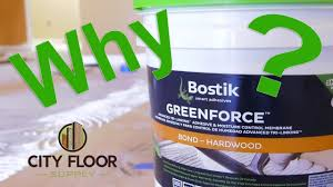 best adhesive for our hardwood floor showroom bostik greenforce