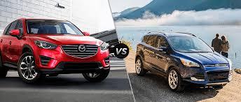 Ford Escape 2016 - 2016 mazda cx 5 vs ford escape