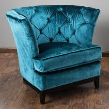 Blue Tufted Sofa by Anabella Teal Blue Velvet Tufted Sofa Chair Velvet Tufted Sofa