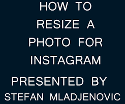 how to resize a photo for instagram using adobe photoshop cs 15 steps