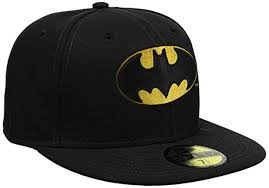 nw era new era 59fifty character basic batman cap clothing