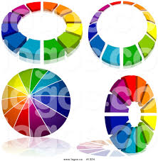 royalty free colorful rainbow vector logos 1 by dero 1324