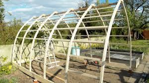 Arched Cabins by Gothic Arch Greenhouse Youtube