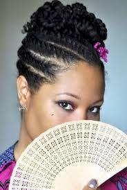 pin up hair styles for black women braided hair bantu knots mohawk braids for black women