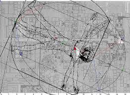 Teotihuacan Map An Egg Curve Drawn On Vitruvian Man By Leonardo Da Vinci