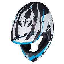 no fear motocross helmet hjc 2017 cl x7 blaze mc 2 mx helmet blue available at motocross giant