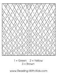 free printable number coloring pages color by number coloring pages