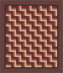 Bed Quilt Rail Fence Bed Quilt Pattern