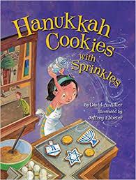 hanukkah cookies hanukkah cookies with sprinkles david a adler jeffrey ebbeler