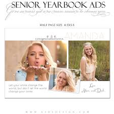 how to make a senior yearbook ad help your student stand out from the rest in their senior yearbook