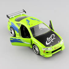 mitsubishi eclipse fast and furious 1 32 scale jada brian s mitsubishi eclipse turbo 1995 fast and