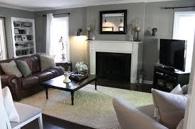apartment exquisite brown cream apartment living room with