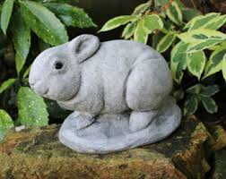 rabbit home decor etsy