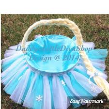 princess easter basket easter basket elsa easter basket blue white birthday baskets