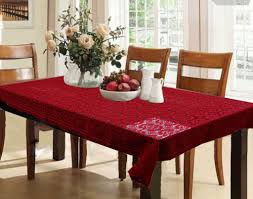 dining table cover clear furniture dining table cover lovely kuber industries printed 6