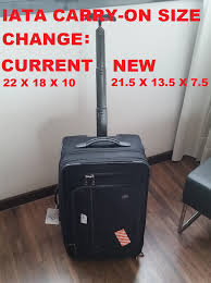 Frontier Carry On by Iata Wants To Outlaw My Carry On More Ancillary Fee For The