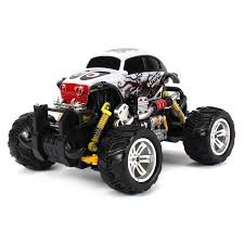 Graffiti Volkswagen Beetle Rc Road Monster Truck 1 18 Scale 4