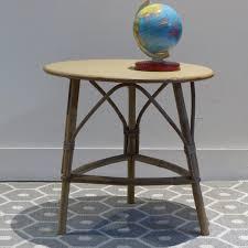 mobilier vintage enfant petit fauteuil en rotin pour enfant lignedebrocante brocante en