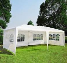 how many tables fit under a 10x20 tent outsunny 10 x 20 gazebo canopy party wedding tent w 4 removable