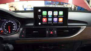 audi a6 or a7 audi a6 a7 2015 2016 carplay aktivering