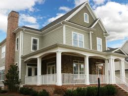 exterior cool modern home exterior decoration with white wood