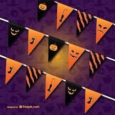 halloween bunting vector free vectors free vectors ui download