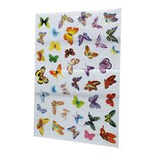 PCS DIY Colourful Butterflies Home Removable Decor Wall Stickers - Butterfly kids room