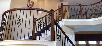 Banister Rail And Spindles Affordable Stair Parts Iron Balusters Rail Newels U0026 Treads