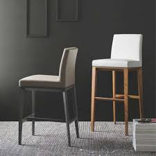 bess leather bar stool u0026 calligaris bar stools yliving