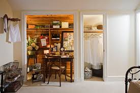 Chic Closet Office Design Ideas Roselawnlutheran - Closet home office design ideas