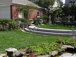 Backyard Sitting Area Ideas Triyae Com U003d Ideas For A Small Sloped Backyard Various Design