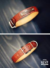 best 25 personalized leather collars ideas on