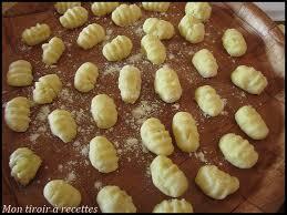 cuisiner gnocchi mon tiroir à recettes de cuisine gnocchis maison