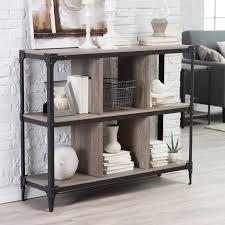 belham living trenton industrial end table belham living trenton 6 cube narrow bookcase rh140930 products