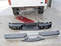 nissan frontier rear bumper replacement ford f 250 heavy duty bumpers from fab fours tech and how to