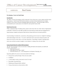Introduction Of Business Letters by Real Estate Cover Letter Examples Estate Agent Sample Resume