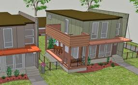new project to use shipping containers to build single family